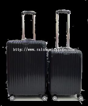 PC Zip Luggage Black