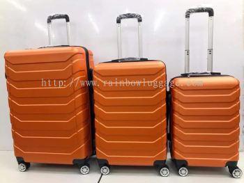 Horizontal Line Orange