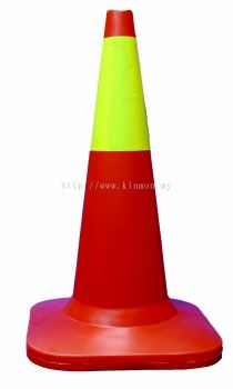 """30"""" Lime Green Reflective Traffic Cone"""