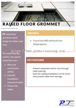 Raised Floor Brush Grommet