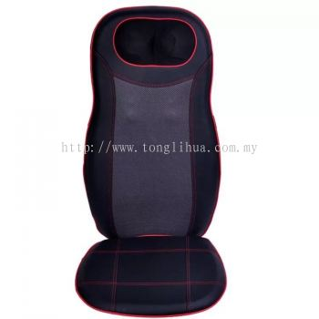 Heat massage cushion 3D neck back kneading massager seat