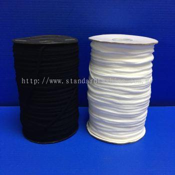 3mm Elastic Flat (Latex Free)