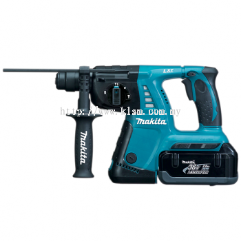 "MAKITA BHR262RB3 (26MM / 1"") 36V CORDLESS COMBINATION HAMMER"