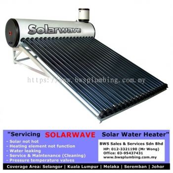 Repair Solarwave Solar Water Heater Installation at Bukit Jalil, Selangor