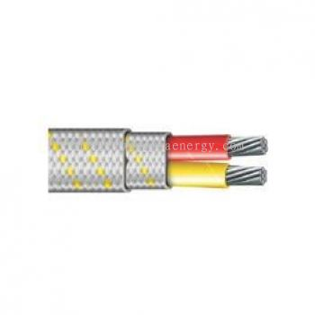 THERMOCOUPLE WIRE TEFLON - FIBER GLASS - FIBER GLASS INSULATED - 400C