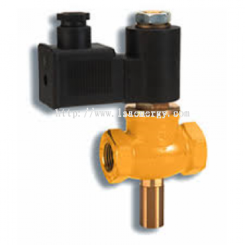 GAS ELECTRO-VALVES N.C. 6 BAR DIMENSIONS FROM 1/2�� TO 2��