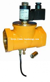 GAS SOLENOID VALVES N.C. 550 MBAR WITH MAGNETIC SENSOR