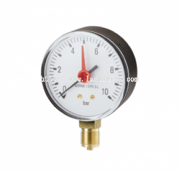GUAGES FOR GAS WITH BOURDON SPRING - M100