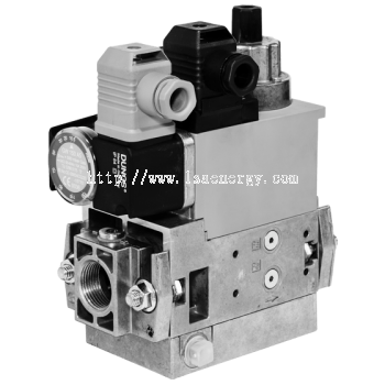 MB-D(LE) 405-412 B01: GasMultiBloc®, Control and safety combination, One-stage mode