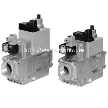 MB-D(LE) 415-420 B01: GasMultiBloc®, Control and safety combination, One-stage mode