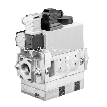 MB-VEF 407-412 B01: GasMultiBloc®, Control and safety combination, Gas-air-ratio control