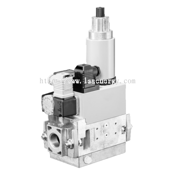 MB-ZRD(LE) 405-412 B01: GasMultiBloc®, Combined regulator and safety shut-off valves, Two-stage func