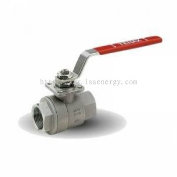 TENAX WP STAINLESS STEEL BALL VALVE WITH ISO PLATE FOR ACTUATORS