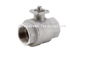 TENAX DR BALL VALVE IN STAINLESS STEEL ISO PLATE (ACC TO ISO 5211) FOR DIRECT MOUNTING OF ACTUATORS