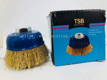 TSB Brass Cup Brush