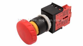 ECS-E3(M1) Mushroom Type Momentary Pushbutton Switch