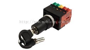 ECS-K Key Selector Switch