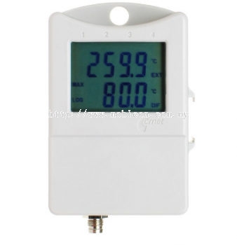 Thermometer 2 chann. (1 external probe) with display