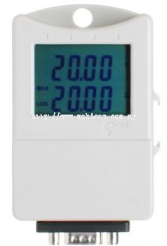 Dual channel 0-5V voltage datalogger with display
