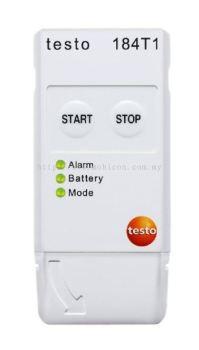 testo 184 T1 - Temperature data logger for transport monitoring