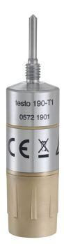 testo 190-T1 - Temperature CFR data logger with short, rigid probe
