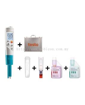 testo 206-pH1 starter set - pH/temperature measuring instrument for liquids