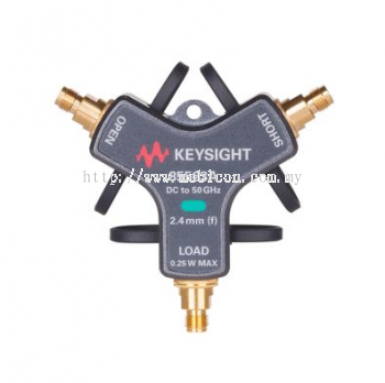 KEYSIGHT 85563A 3-in-1 OSL Mechanical Calibration Kit, DC to 50 GHz, 2.4mm (f)