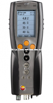 TESTO 340 Flue Gas analyzer for use in industry