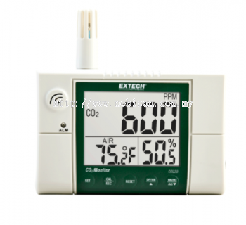 EXTECH CO230 : Indoor Air Quality, Carbon Dioxide (CO2) Monitor