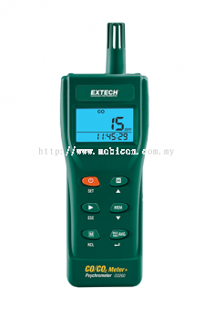 EXTECH C260 : CO/CO2 Meter Indoor Carbon Monoxide (CO) and Carbon Dioxide (co25) Data Logging meter