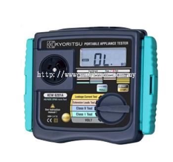 KYORITSU KEW6201A Portable Appliance Testers