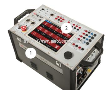 MEGGER - TRAX Multifunction Transformer and Substation Test System