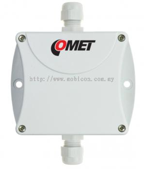 COMET P4121 Temperature Transmitter Pt1000 -30��C to +80��C/ 4 to 20 mA