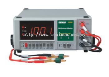 EXTECH 380560 : High Resolution Precision Milliohm Meter (110VAC)