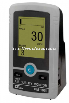 LUTRON PM-1051 PM 2.5 AIR QUALITY METER