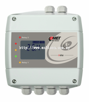 COMET H4531 Thermometer with Ethernet interface and relays