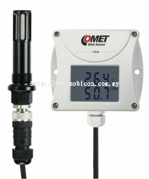 COMET T3511P Web sensor - compressed air remote thermometer hygrometer with Ethernet interface