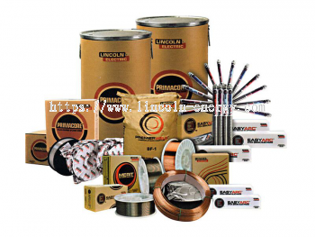 Lincolnweld SAW Submerged Arc Welding Consumables