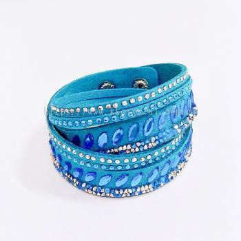 Slake Pulse Bracelet, Navette, 11# Aquamarine