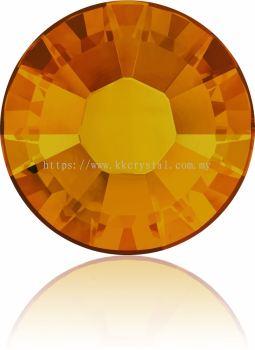 Swarovski Flat Backs Hotfix, 2038 SS10, Tangerine A HF (259), 144pcs/pack