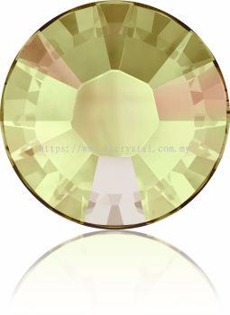 Swarovski Flat Backs Hotfix, 2038 SS10, Crystal Luminous Green A HF (001 LUMG), 144pcs/pack