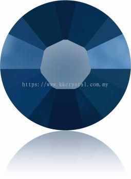 Swarovski Flat Backs Hotfix, 2038 SS10, Crystal Metallic Blue A HF (001 METBL), 144pcs/pack