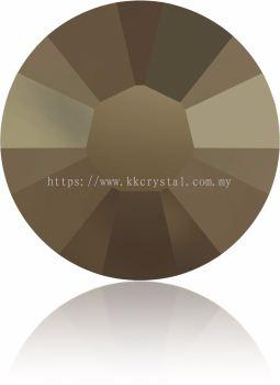 Swarovski Flat Backs Hotfix, 2038 SS10, Crystal Metallic Light Gold A HF (001 MLGLD), 144pcs/pack