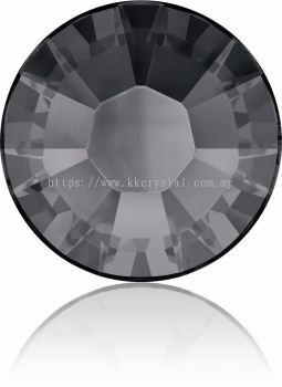 Swarovski Flat Backs Hotfix, 2038 SS10, Crystal Silver Night A HF (001 SINI), 144pcs/pack