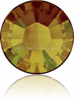 Swarovski Flat Backs Hotfix, 2038 SS10, Crystal Tabac A HF (001 TAB), 144pcs/pack