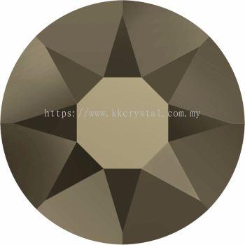 Swarovski Flat Backs Hotfix, 2078 SS12, Crystal Metallic Light Gold A HF (001 MLGLD), 144pcs/pack