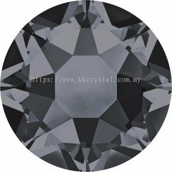 Swarovski Flat Backs Hotfix, 2078 SS12, Crystal Silver Night A HF (001 SINI), 144pcs/pack