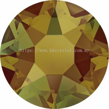Swarovski Flat Backs Hotfix, 2078 SS12, Crystal Tabac A HF (001 TAB), 144pcs/pack