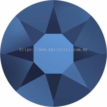 Swarovski Flat Backs Hotfix, 2078 SS16, Crystal Metallic Blue A HF (001 METBL), 144pcs/pack