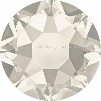 Swarovski Flat Backs Hotfix, 2078 SS16, Crystal Silver Shade A HF (001 SSHA), 144pcs/pack